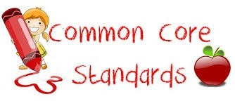 Red Text Common Core Standards Image